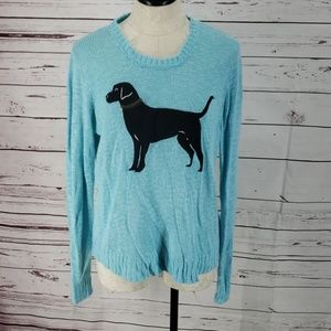 Red Camel Blue Dog Sweater